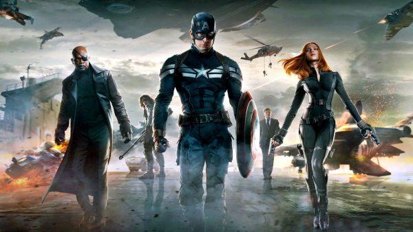 Capitão América 2 reina como única estreia nos cinemas