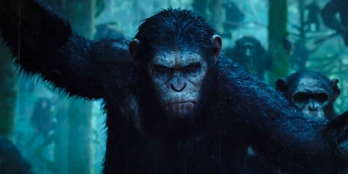 Planeta dos Macacos: O Confronto, com Andy Serkis