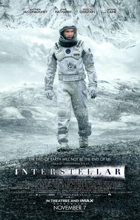 Paramount divulga pôster do novo filme de Christopher Nolan