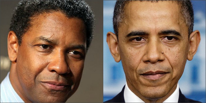 Denzel Washington descarta interpretar Barack Obama