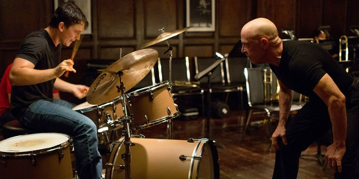Whiplash, com J.K. Simmons