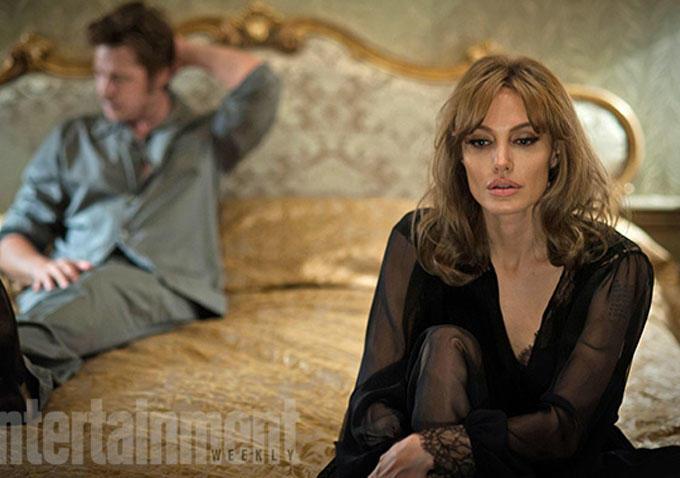 """Divulgadas as primeiras imagens de """"By the sea"""", com Angelina Jolie e Brad Pitt"""