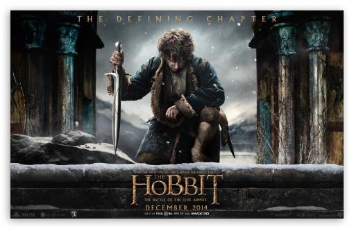 """Novo banner revela personagens de """"O Hobbit: a batalha dos cinco exércitos"""""""