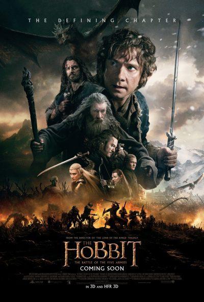 Batalha final do último O Hobbit terá 45 minutos
