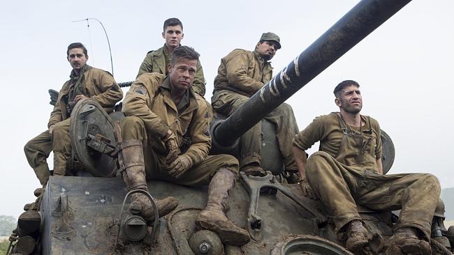 Drama de guerra com Brad Pitt lidera bilheterias nos EUA