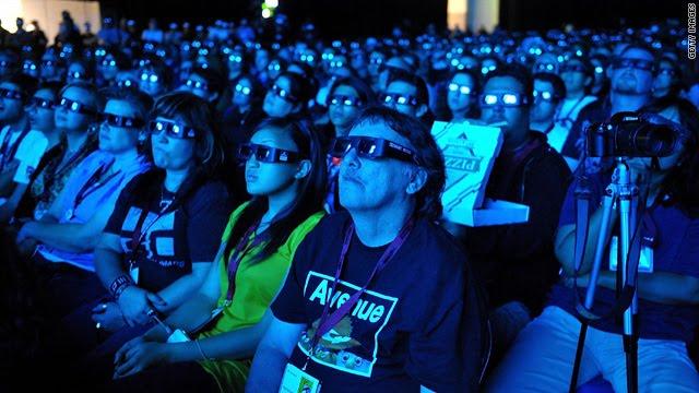 Cientistas desenvolvem cinema 3D sem a necessidade de óculos