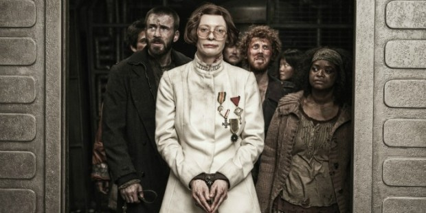 snowpiercer expresso do amanhã tilda swinton chris evans