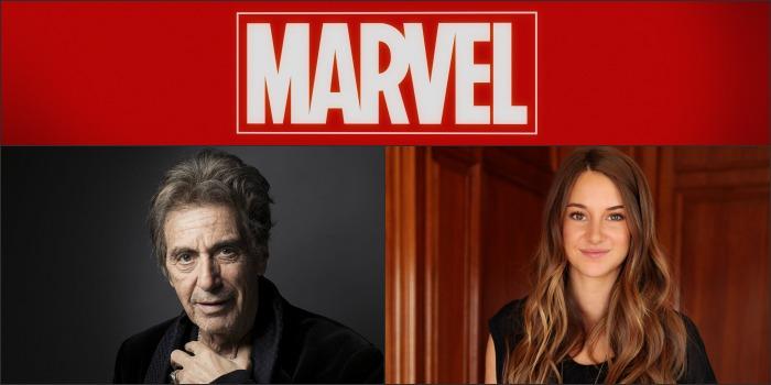 Al Pacino e Shailene Woodley se candidatam para fazer filmes da Marvel