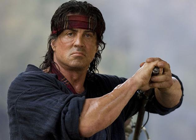 Sylvester Stallone está fora do remake de 'Rambo'