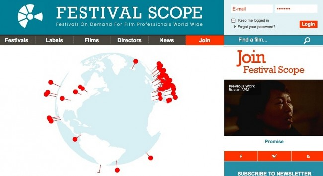 Cinema brasileiro marca presença em plataforma para profissionais de audiovisual