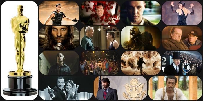 Cinco melhores (e o pior) vencedores do Oscar dos anos 2000