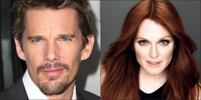 Ethan Hawke e Julianne Moore serão estrelas de Maggie's Plan