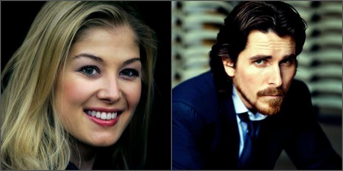 Rosamund Pike e Christian Bale serão estrelas de The Deep Blue Good-by