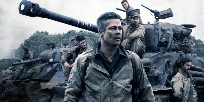 Corações de Ferro, com Brad Pitt