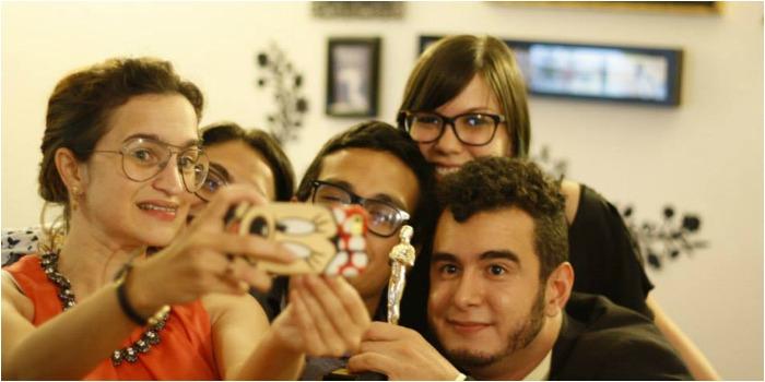 Bastidores da Selfie