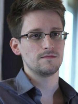 Edward Snowden em Citizenfour, de Laura Poitras