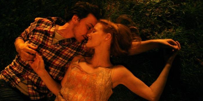 Dois Lados do Amor, com James McAvoy e Jessica Chastain