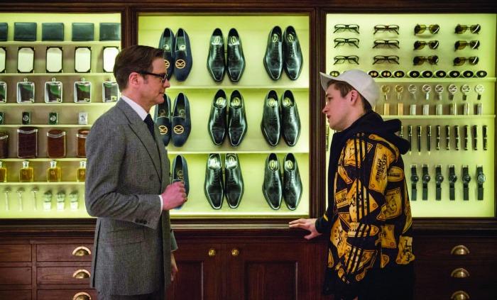 Kingsman: Serviço Secreto, com Colin Firth