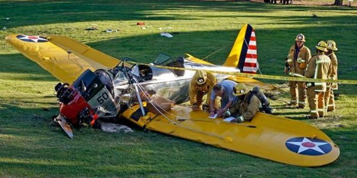 Avião vintage de Harrison Ford tinha sido restaurado, dizem autoridades