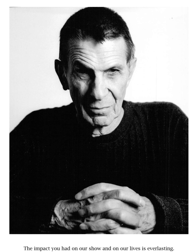 Leonard Nimoy é homenageado na série de TV The Big Band Theory