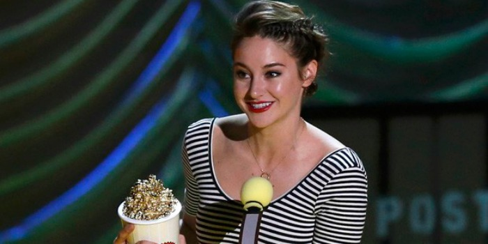 A Culpa é das Estrelas vence o MTV Movie Awards 2015