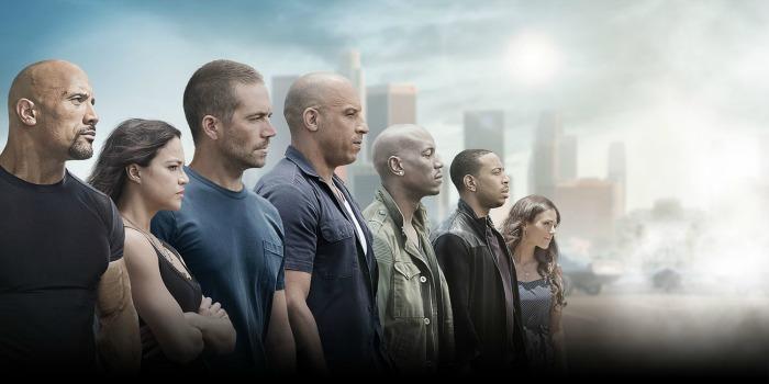 Velozes e Furiosos 7, com Vin Diesel e Paul Walker