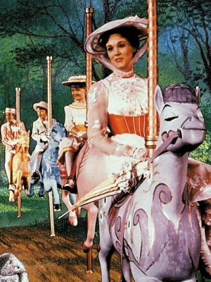 Mary Poppins, com Julie Andrews