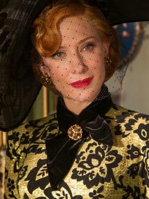 """Cate Blanchett como Lady Tremaine em """"Cinderela"""""""