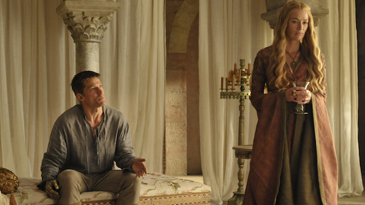 Game of Thrones Cersei e Jamie Lannister