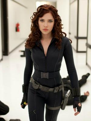 Viúva Negra Scarlett Johansson Marvel Homem de Ferro 2