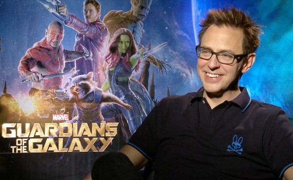 james gunn guardiões da galáxia
