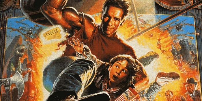 O Último Grande Herói, com Arnold Schwarzenegger