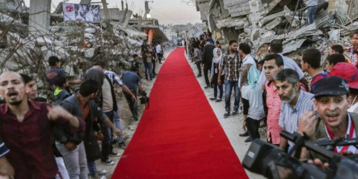 Festival de cinema em Gaza tem filmes ao ar livre e tapete vermelho entre ruínas