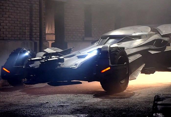 Batmobile Esquadrão Suicida