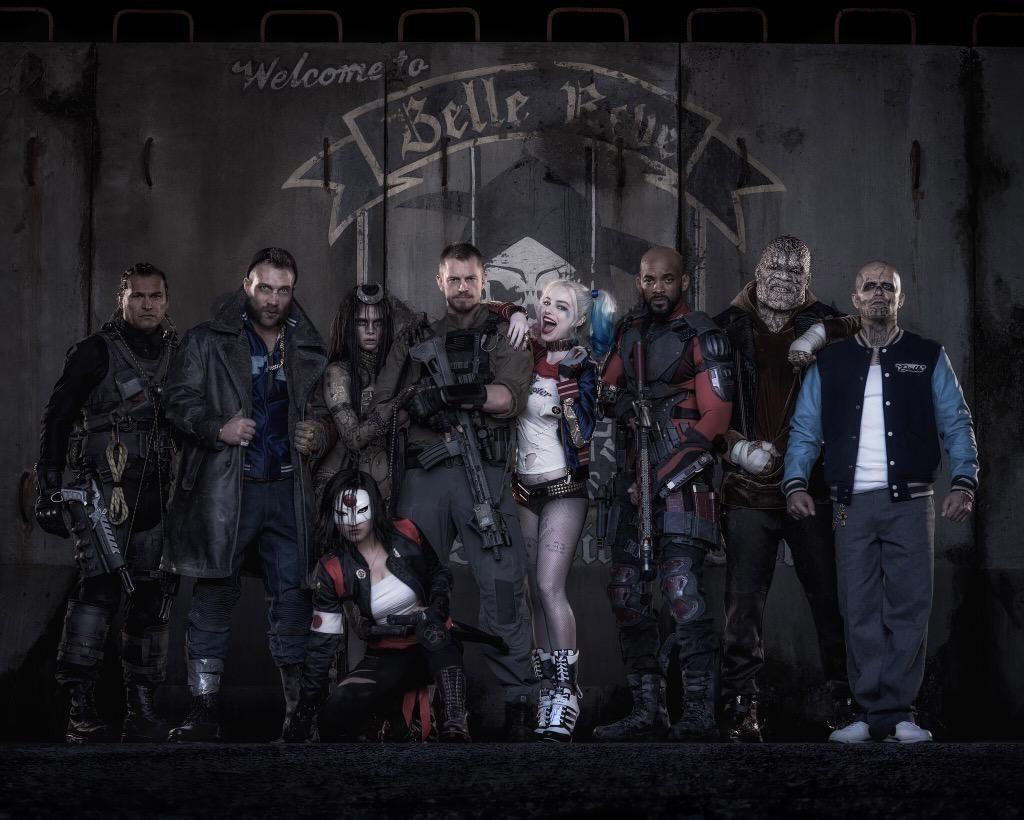 Esquadrão Suicida elenco Força Tarefa X David Ayer