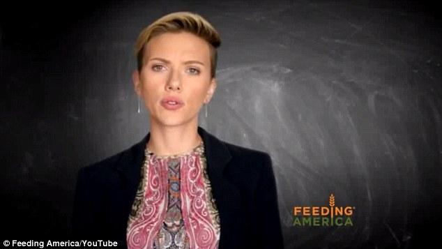 Scarlett Johansson revela que família já dependeu do governo para sobreviver