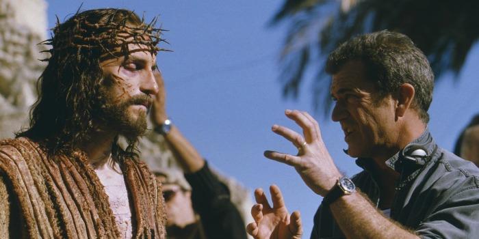 Mel Gibson nos bastidores de A Paixão de Cristo
