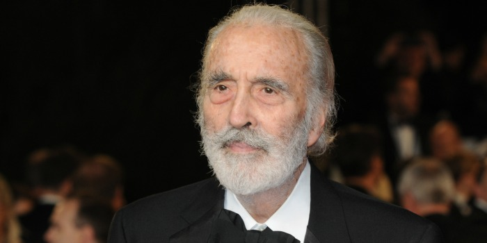 Morre Sir Christopher Lee, lenda do cinema