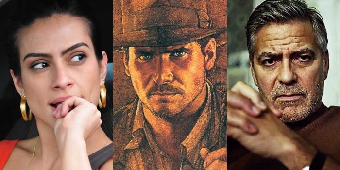 George Clooney e Cléo Pires são atrações nos cinemas de Manaus ao lado de Indiana Jones