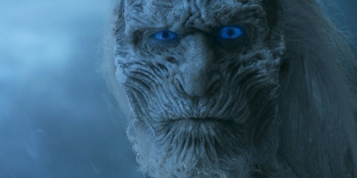 Um dos White Walkers de Game of Thrones