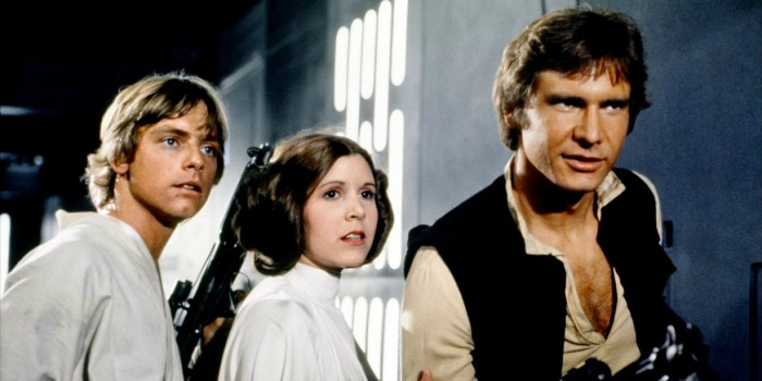 Carrie Fisher revela romance com Harrison Ford nos bastidores de 'Star Wars'