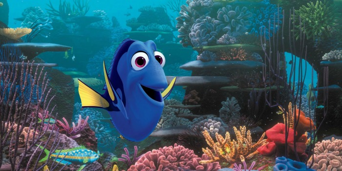 Dory em Procurando Nemo