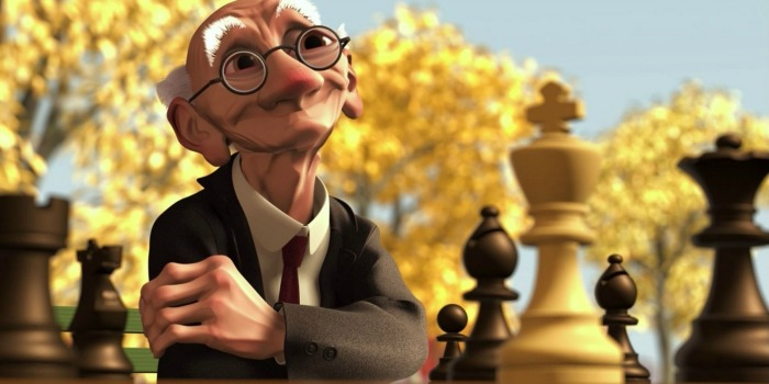 Curtas da Pixar: O Jogo de Geri (1998)