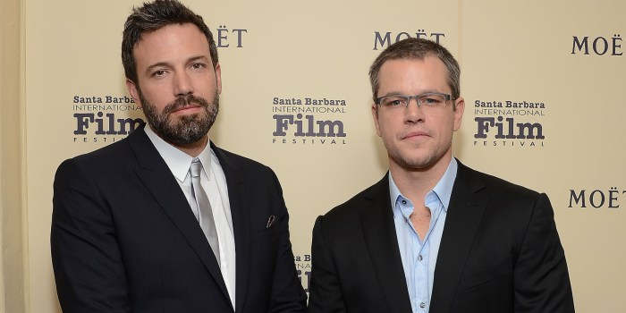 Ben Affleck e Matt Damon firmam parceria para filme sobre roubo ao McDonalds