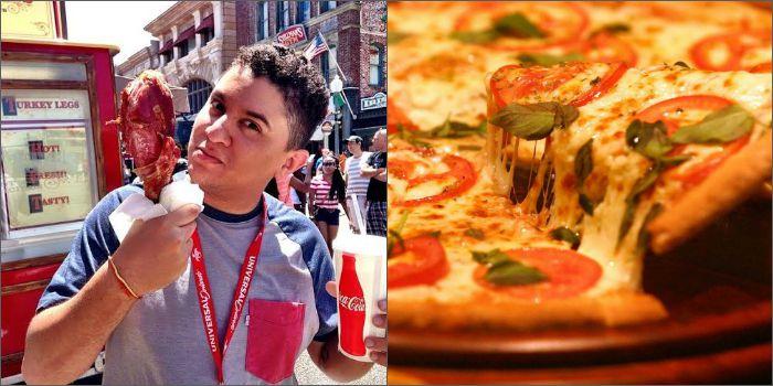 Victor Israel, do É de Comer, e a pizza de Os Goonies