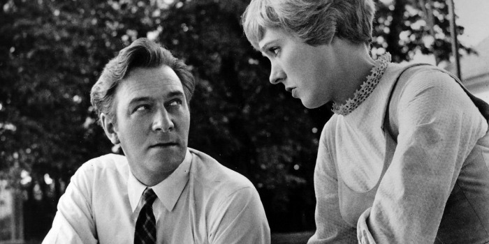 Christopher Plummer e Julie Andrews em A Noviça Rebelde