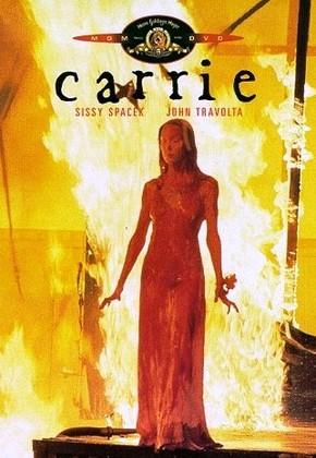Pôster de Carrie, a Estranha (1976), com Sissy Spacek