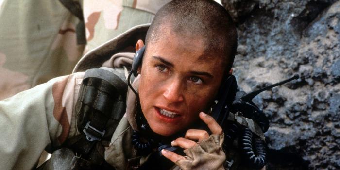 Até o Limite da Honra, com Demi Moore, de Ridley Scott