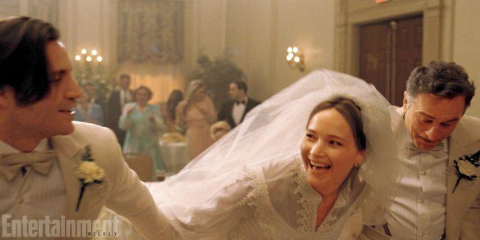 Foto da Entertainment Weekly de Joy, com Jennifer Lawrence