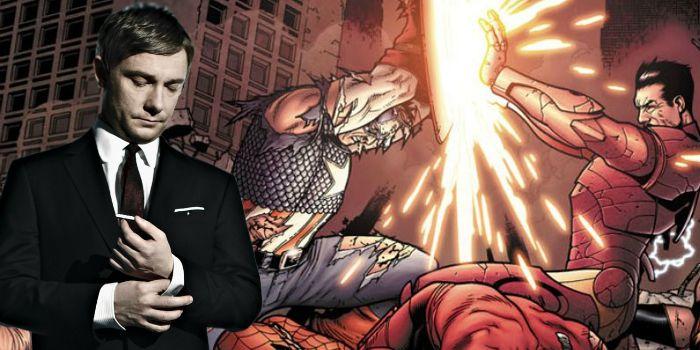 """""""Capitão América: Guerra Civil"""": Martin Freeman faz suspense sobre personagem"""